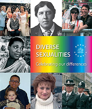 Cover of Diverse Sexualties Staff handbook for Brent Council